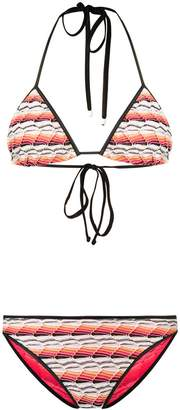 Missoni Mare fine knit bikini set