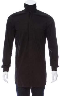 Rick Owens 2017 Oversize Dress Shirt