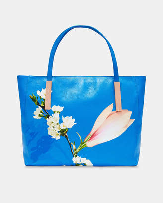 Ted Baker HAANAA Harmony large leather tote bag