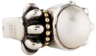 Lagos Mabé Pearl Caviar Ring