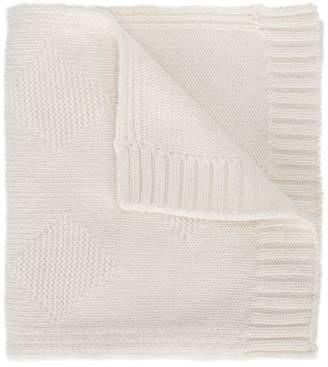 Simonetta diamond weave scarf