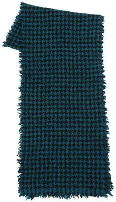 Faliero Sarti Two Tone Wool Blend Scarf