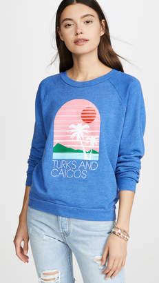 Wildfox Couture Turks & Caicos Fiona Crew Sweatshirt