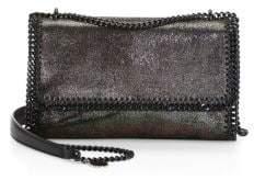 Stella McCartney Shiny Dotted Chain Crossbody Bag