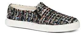 Jack Rogers Anna Boucle Fabric Sneakers