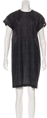 Hope Print Sheath Dress
