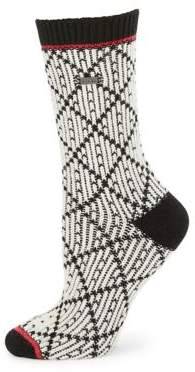 Sorel Diamond-Print Socks
