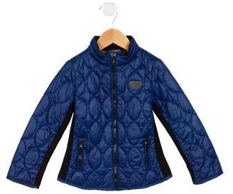 Armani Junior Boys' Quilted Puffer Jacket