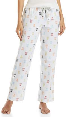 Psycho Bunny Woven Checkered Drawstring Lounge Pants