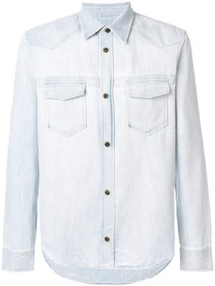 Maison Margiela denim two pocket shirt
