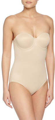 TC Shapewear Sheer Bodybriefer Strapless Shaping Bodysuit