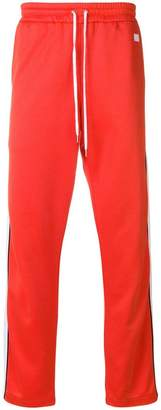 Ami Alexandre Mattiussi track pants with contrasted bands