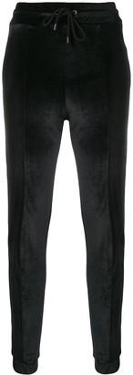 Marcelo Burlon County of Milan velvet track trousers