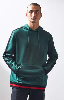 PacSun Chadwick Oversized Side Stripe Pullover Hoodie