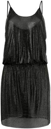 Paco Rabanne fitted vest dress