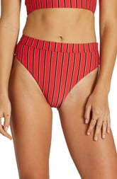 Billabong Hot for Now High Waist Swim Bottoms