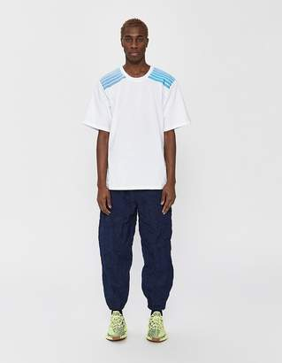 Dima Leu S/S Jersey T-Shirt in Light Blue/Turquoise