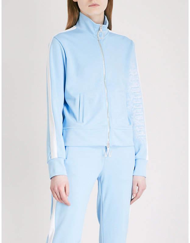 Woman cotton-blend track jacket
