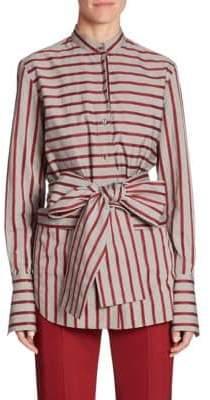 Victoria Beckham Victoria, Striped Tie Top