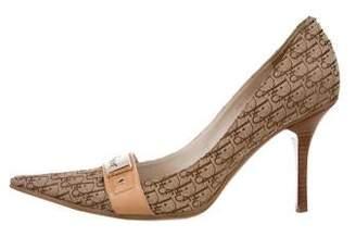 Christian Dior Diorissimo Pointed-Toe Pumps