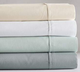 Pottery Barn PB Essential 300-Thread-Count Flat Sheet