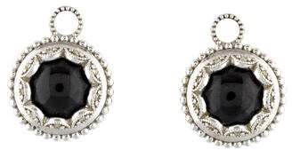Jude Frances 18K Spinel & Diamond Earring Charms
