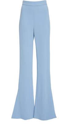 Cushnie High-Rise Flared Crepe Pants