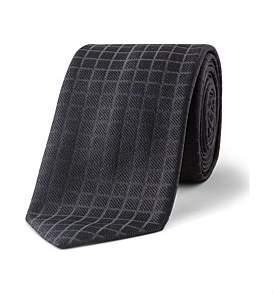 HUGO BOSS 6Cm Twill Tonal Jaquard Plain Silk Tie