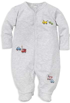 Kissy Kissy Boys' Rush Hour Stripe Footie - Baby