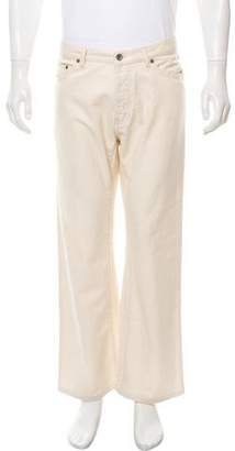 John Varvatos Cropped Relaxed-Fit Jeans