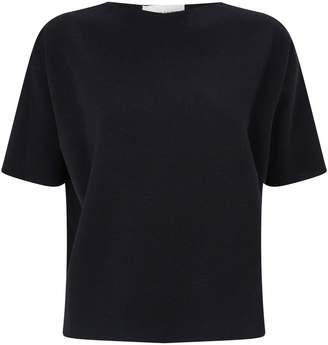 Mansur Gavriel Milano Wool Short-Sleeved Top
