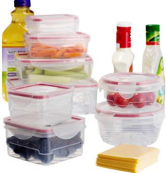 Wayfair Basics Wayfair Basics Plastic 8 Container Food Storage Set