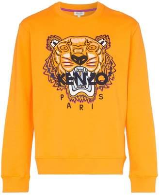 Kenzo Tiger Appliqué Sweatshirt