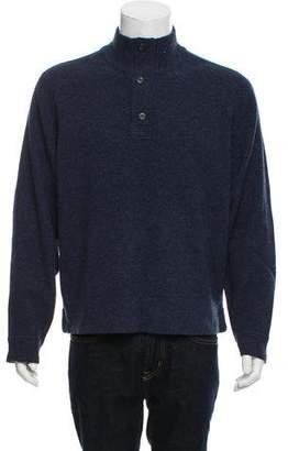 Jack Spade Wool Henley Sweater