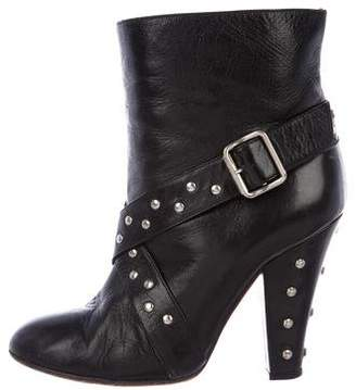 Marc Jacobs Leather Studded Boots