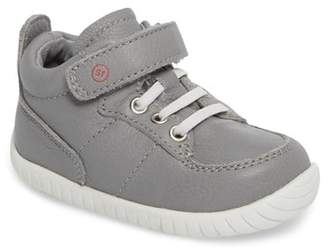 Stride Rite Bailey High Top Sneaker (Baby & Toddler) - Wide Width Available