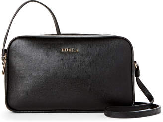 Furla Onyx Lilli Dual-Zip Leather Crossbody