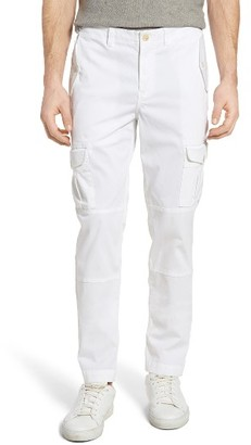 Men's Michael Bastian Straight Fit Garment Dyed Cargo Pants $168 thestylecure.com
