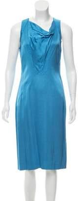 HUGO BOSS Boss by Sleeveless Midi Dress
