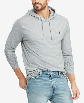 Polo Ralph Lauren Men Big & Tall Hooded Long Sleeve T-Shirt
