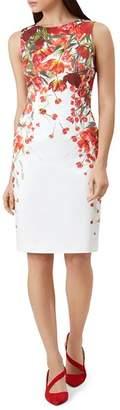 Hobbs London Fiona Floral Print Dress