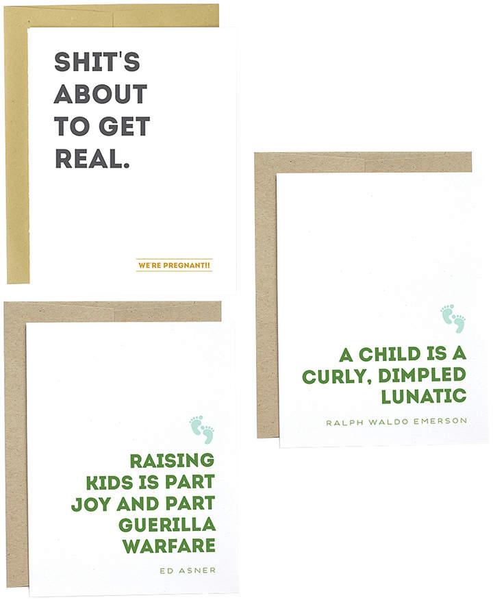 Parenting Greeting Card Set