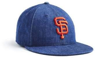 Todd Snyder + New Era + NEW ERA MLB SAN FRANCISCO GIANTS CAP IN CONE DENIM