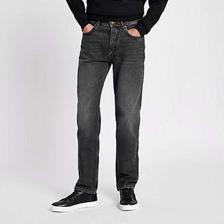 River Island Black washed Bobby standard jeans