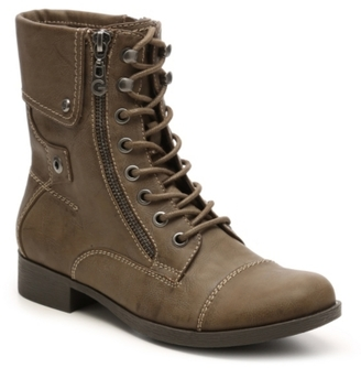 G by GUESS Banks Combat Boot $80 thestylecure.com