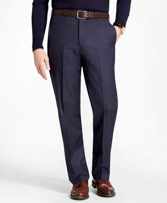 Brooks Brothers Madison Fit Tonal Check Trousers