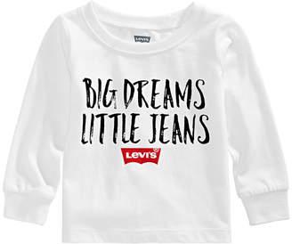 Levi's Baby Boys Logo-Print Cotton T-Shirt