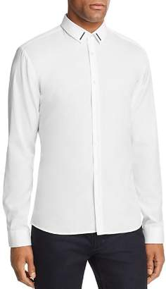 HUGO Ero Metal Trim Extra Slim Fit Button-Down Shirt