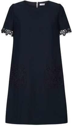 Claudie Pierlot Lace Trim A-Line Dress