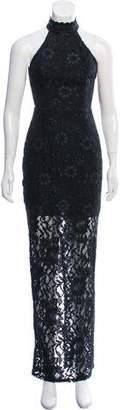 ABS by Allen Schwartz Lace Evening Dress w/ Tags
